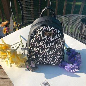 🆕 Betsey Johnson mini backpack